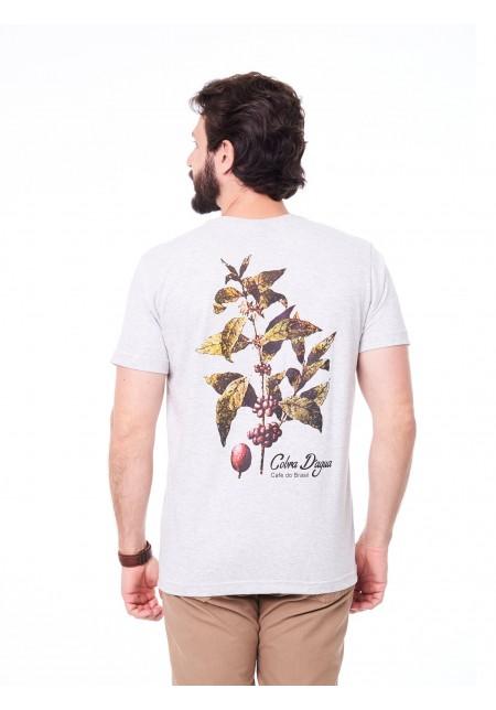 Camiseta Cobra D'agua Café do Brasil - Branca
