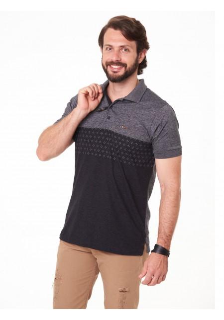 Camisa Polo Cobra D'agua Social - Preto