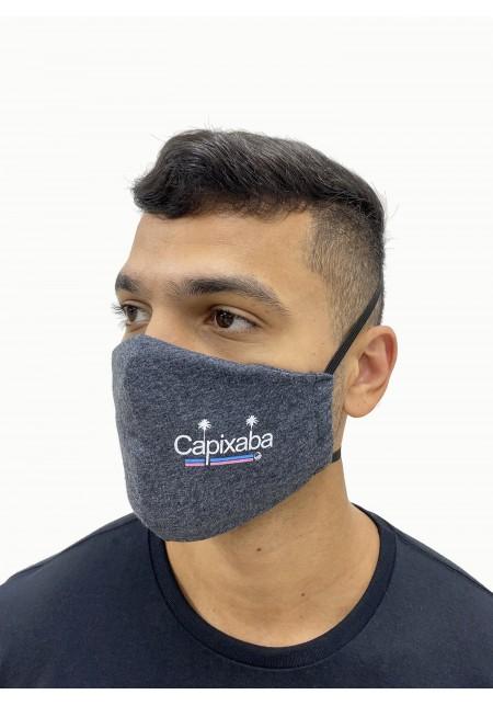 Máscara Premium Cobra D'agua Premium Unissex Capixaba - Mescla Escuro