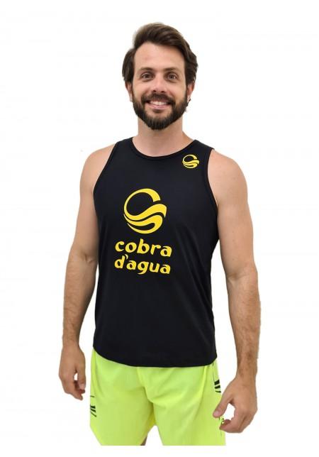 Regata Cobra D'agua Campeão - Preto